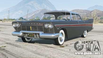 Plymouth Belvedere Sport Sedan 1957〡add-on para GTA 5