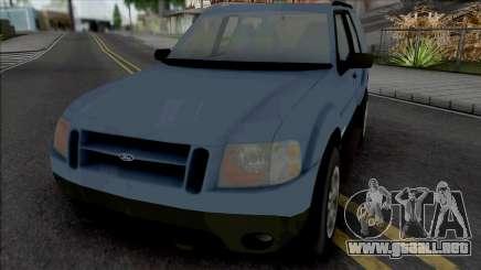 Ford Explorer Sport 2002 para GTA San Andreas