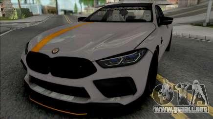 BMW M8 Gran Coupe Manhart para GTA San Andreas