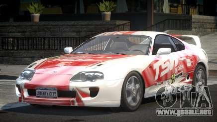 Toyota Supra GST Drift S3 para GTA 4