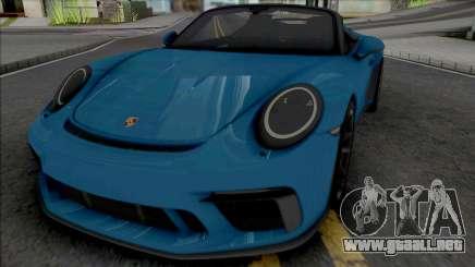 Porsche 911 Speedster 2020 [HQ] para GTA San Andreas