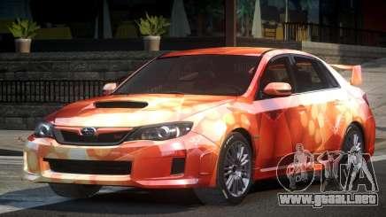 Subaru Impreza US S1 para GTA 4