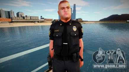 New Pulaski Skin para GTA San Andreas