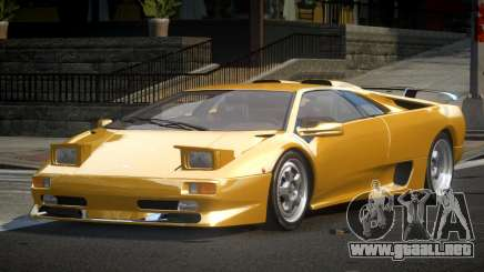 Lamborghini Diablo SP-U para GTA 4