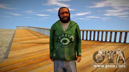 Indigente de GTA 5 v9 para GTA San Andreas