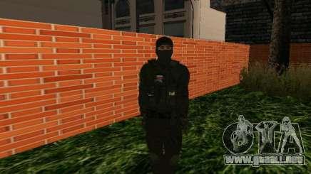 Fuerzas especiales de la piel para GTA San Andreas