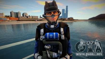 Infantry swat para GTA San Andreas