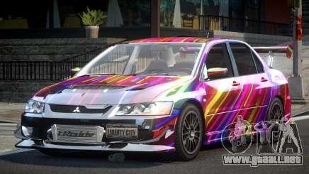 Mitsubishi Lancer Evolution VIII GST-R S4 para GTA 4