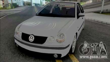 Volkswagen Polo Sedan 2005 Comfortline para GTA San Andreas