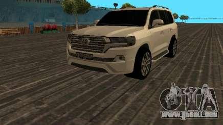 Toyota Land Cruiser 200 18 v2 para GTA San Andreas
