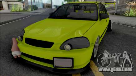 Honda Civic 1.6 iES Yellow para GTA San Andreas