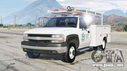 Chevrolet Silverado 1999〡Utility Truck para GTA 5