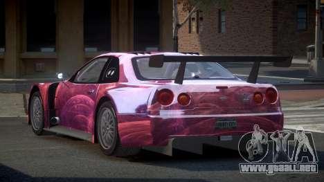 Nissan Skyline R34 US S1 para GTA 4