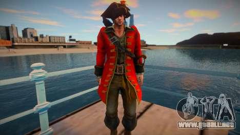 Leon Kennedy Pirate para GTA San Andreas