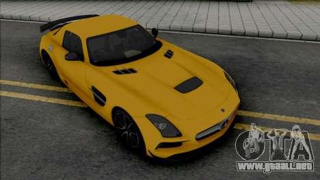 Mercedes-Benz SLS AMG Black Series (SA Lights) para GTA San Andreas