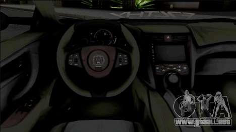 Honda NSX Liberty Walk [HQ] para GTA San Andreas
