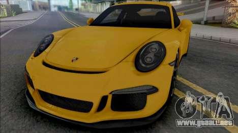 Porsche 911 (991) GT3 para GTA San Andreas