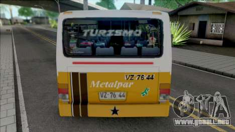 Metalpar Pucara 2000 Detalles 2d para GTA San Andreas