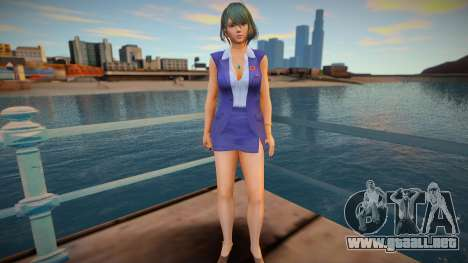 DOAXVV Tamaki - Secret Repor v4 para GTA San Andreas