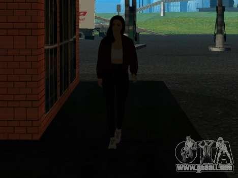 Linda chica Anna para GTA San Andreas