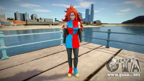 Android 21 from Dragon Ball FighterZ para GTA San Andreas