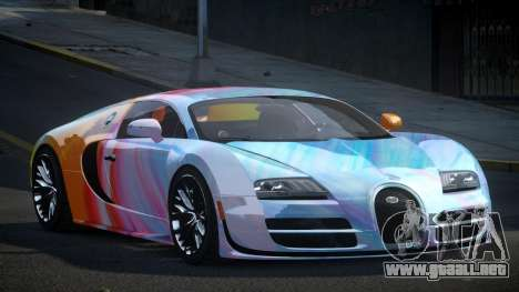 Bugatti Veyron PSI-R S1 para GTA 4