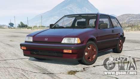 Honda Civic hatchback 1986〡add-on