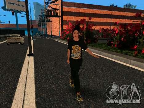 Linda chica María para GTA San Andreas