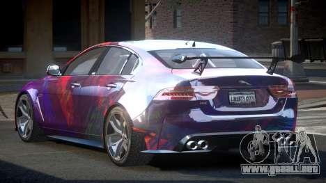 Jaguar XE GST S5 para GTA 4