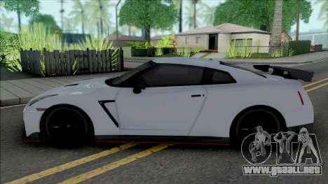 Nissan GT-R R35 Nismo para GTA San Andreas