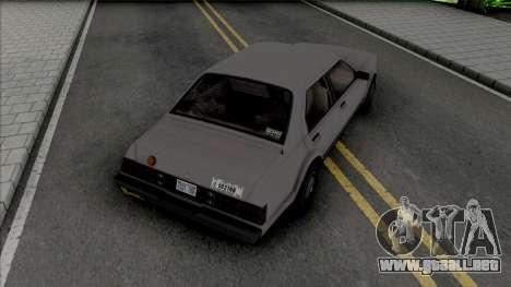 GTA IV Albany Esperanto (Roman Taxi) para GTA San Andreas