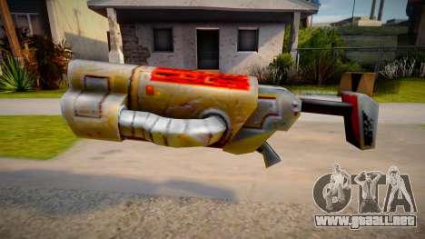 Quake 2 Railgun para GTA San Andreas