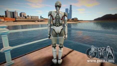 Sara From Shadowgun: Deadzone para GTA San Andreas