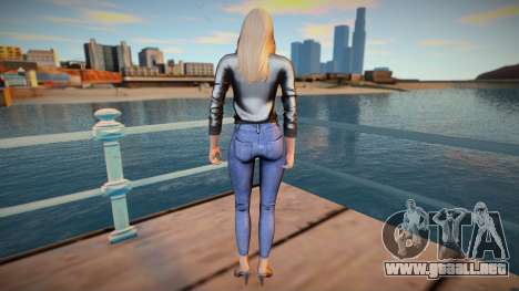 Rachel v8 ski para GTA San Andreas