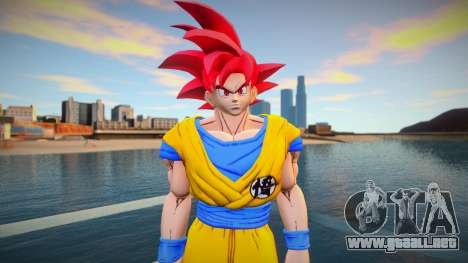 Goku God Red para GTA San Andreas