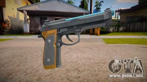 RE2: Remake - Samurai Edge Colt v4 para GTA San Andreas