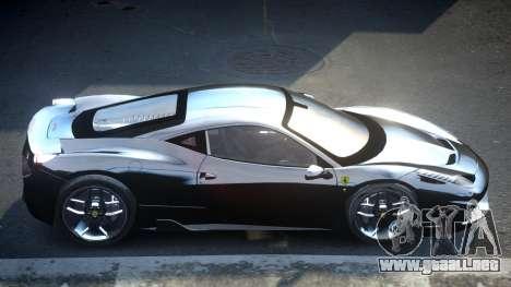 Ferrari 458 SP U-Style para GTA 4
