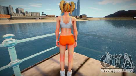 Juliet Starling Hooters from Lollipop Chainsaw para GTA San Andreas