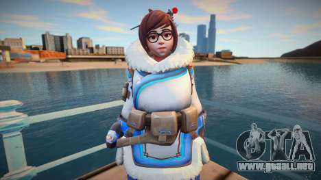 Mei from Overwatch para GTA San Andreas