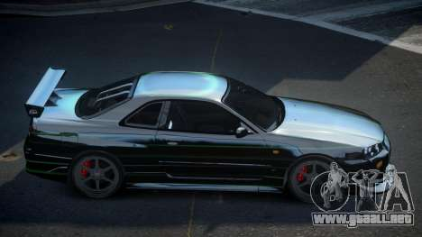 Nissan Skyline R34 PSI-S S5 para GTA 4