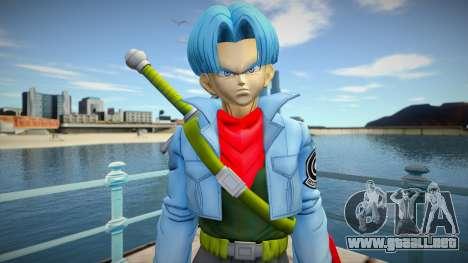 Trunks blue hair para GTA San Andreas
