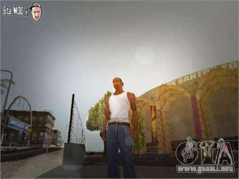 Textura irreal Mod para GTA San Andreas