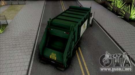 GTA V Brute Tipper Trash para GTA San Andreas