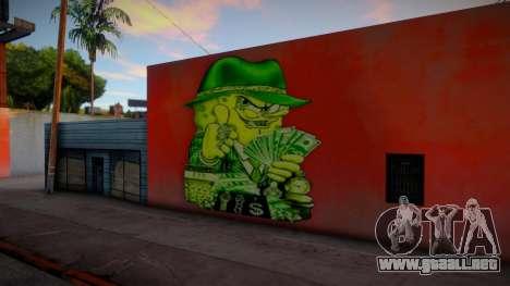 Gangster Spongebob Graffiti para GTA San Andreas