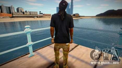 Lil Wayne (good skin) para GTA San Andreas