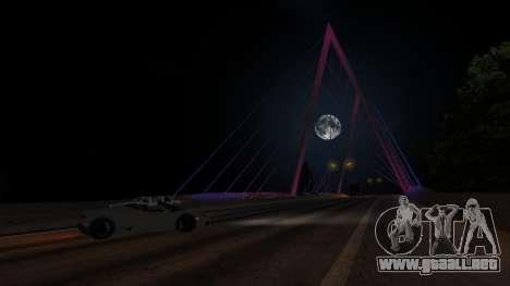 Puente de Rockshore para GTA San Andreas