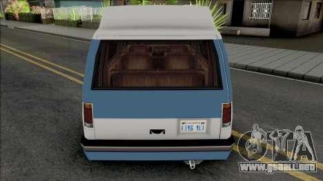 Moonbeam (Conversion Van) para GTA San Andreas