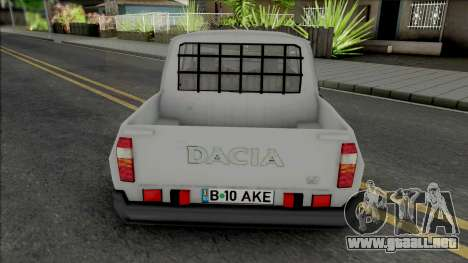 Dacia 1307 Papuc Necarosata para GTA San Andreas