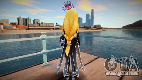 Megadimension Neptunia Colla - Million Arthur v3 para GTA San Andreas