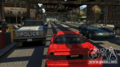 Paquete de vehículos SA para GTA 4